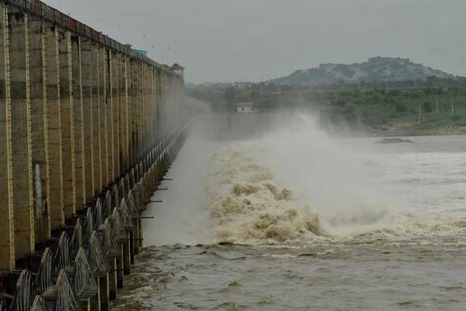Heavy inflows into Jurala, Srisailam