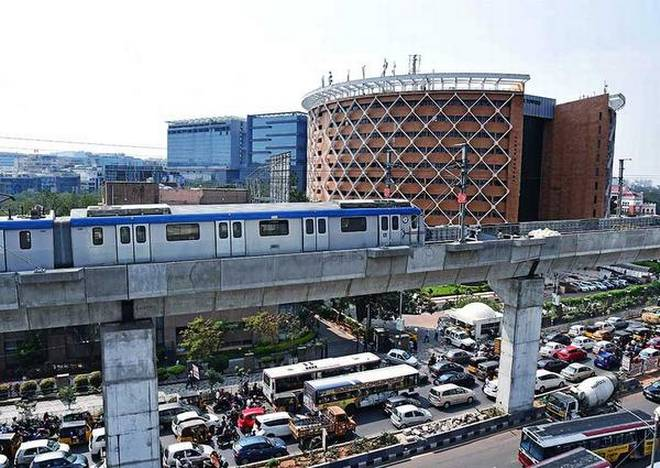 Metro on Hitec City-Raidurg stretch soon