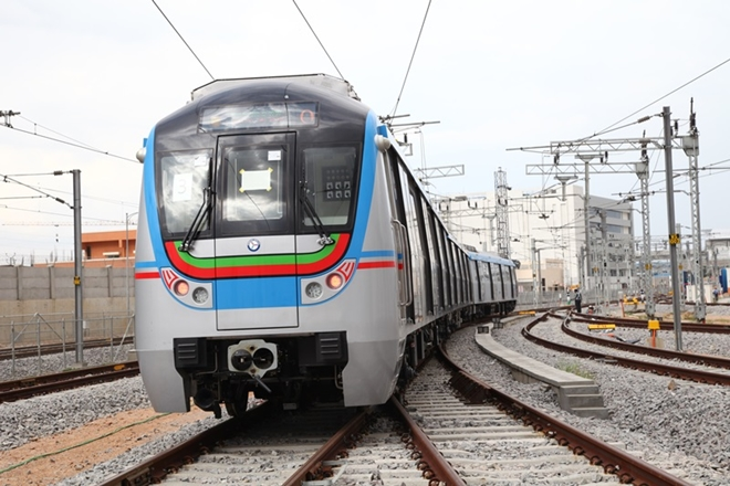 Hyderabad Metro Rail reaches 80 million passenger milestone