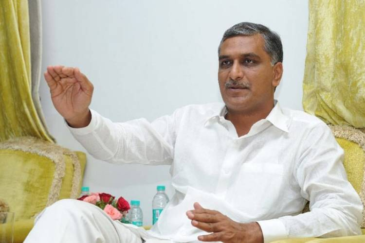 Telangana: Harish Rao likens his portfolio to that of a company CFO
