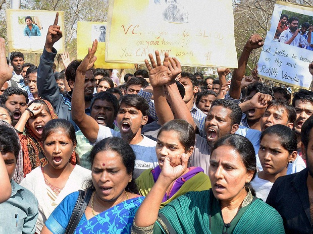 Rohith suicide: Vice Chancellor Appa Rao back, HU students go on rampage