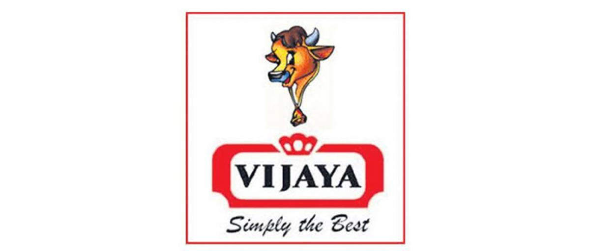 e-vehicles to promote Vijaya Dairy products