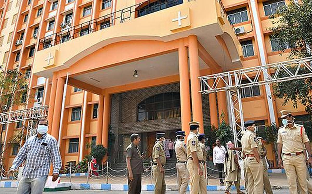 Gandhi Hospital officials dispel rumours on shortage of oxygen