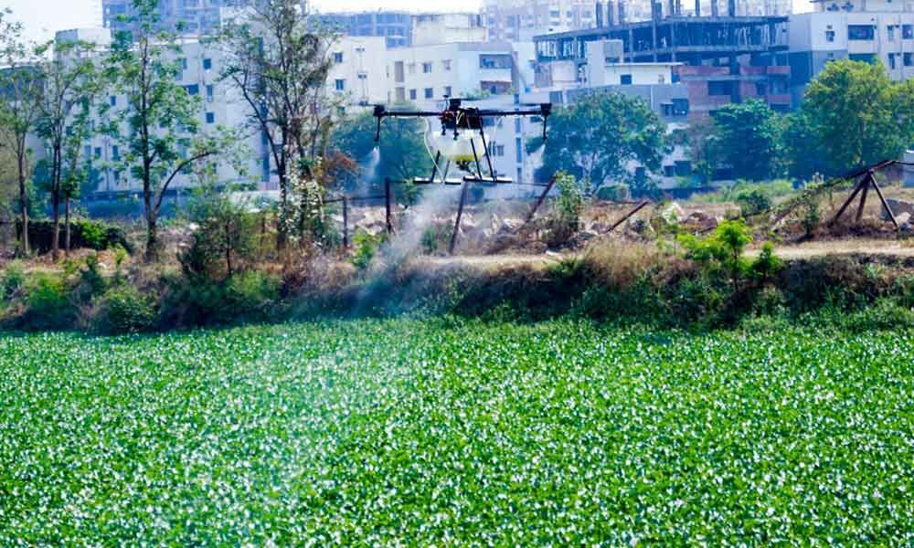GHMC to use drones to keep Miyapur lake clean