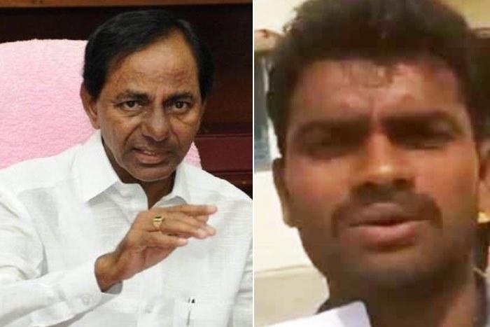 CM KCR dials farmer after his complaint on Facebook