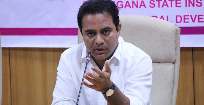 Bad roads can't get global tag to city: KTR