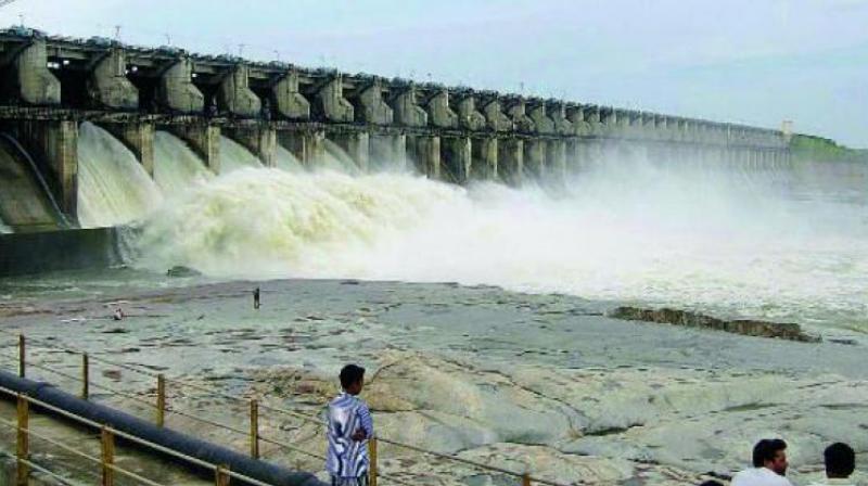 Heavy inflows into Sri Ram Sagar Project