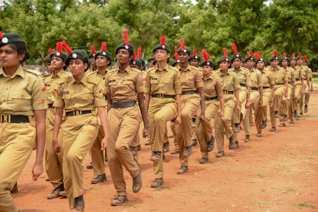 NCC camp held in Hyderabad