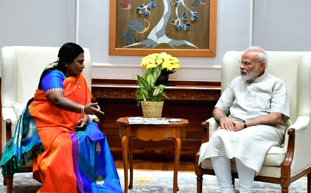 Telangana Governor calls on PM Modi