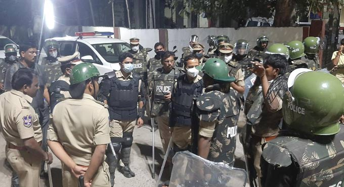 Section 144 imposed in Bhainsa
