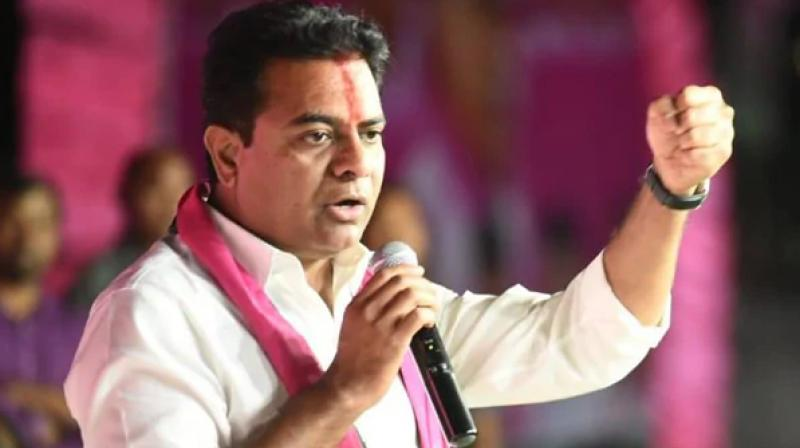 KTR warns both the BJP and the Congress to do their homework and stop indulging in mudslinging against TRS govt