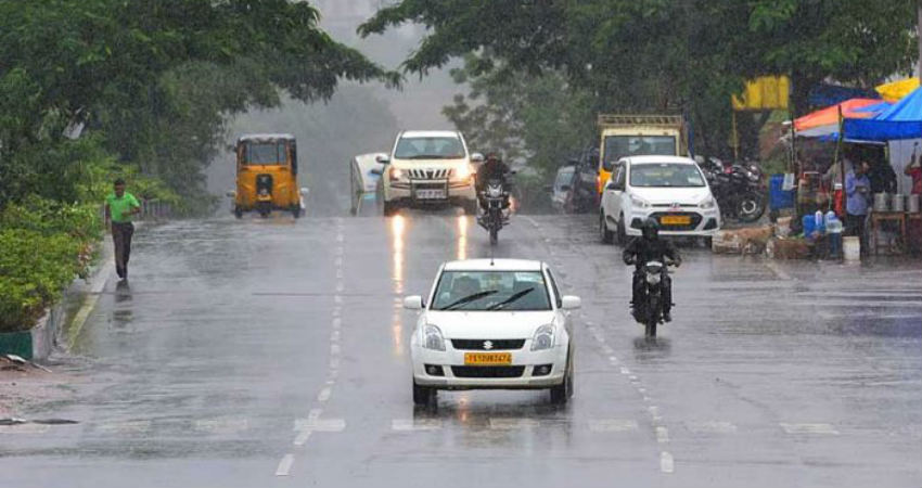 Rain likely to occur at isolated places across Telangana from July 22 to 25
