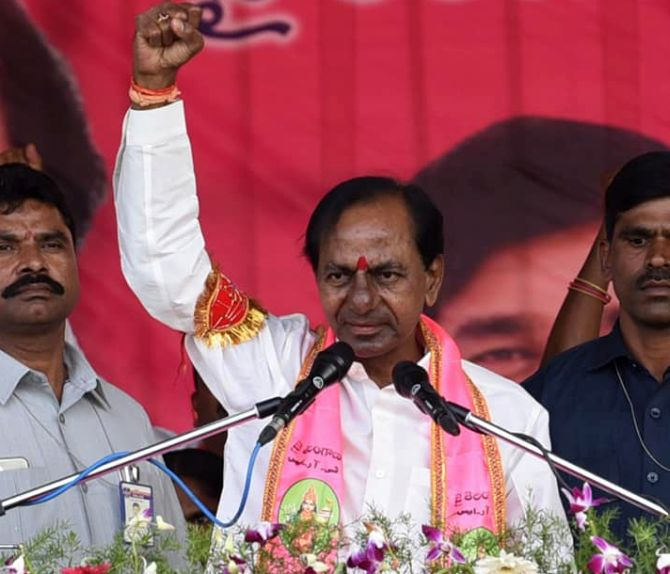 TRS to form government in Telangana with huge majority