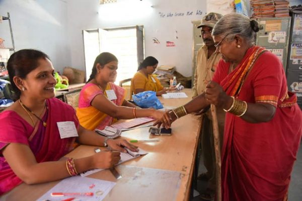 77 per cent turnout in local body polls