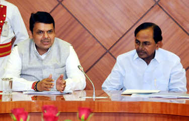 KCR, Fadnavis to sign irrigation deal