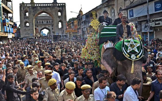KCR urged to allow elephant for Moharrum
