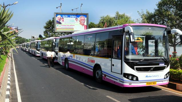 More AC buses would ply on more routes in Hyderabad soon
