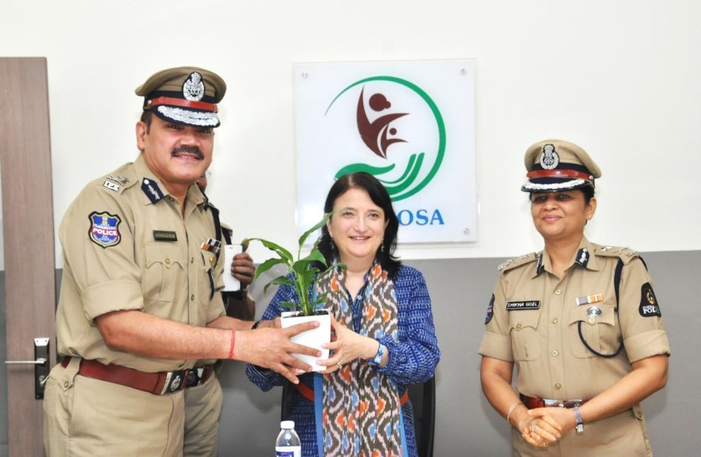 Katherine Hadda praises work done by Bharosa, SHE Teams