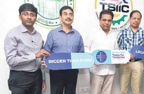 KTR unveils logo, theme and website of BioAsia