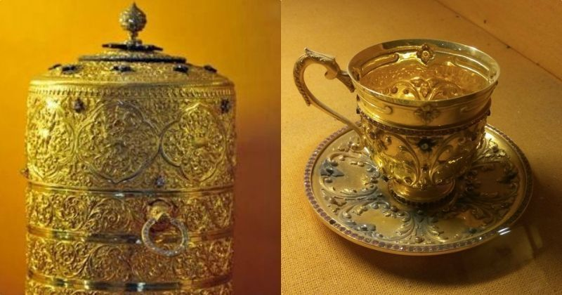 Gold tiffin box stolen from Nizam