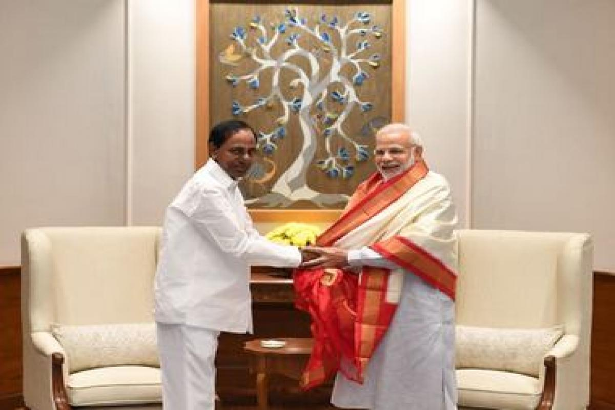 Telangana CM KCR to meet Modi on Oct 4