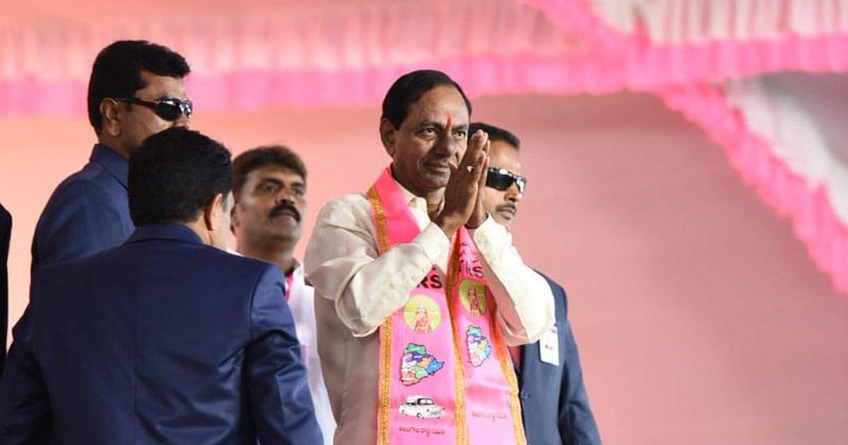Telangana polls: KCR to address meetings from tomorrow
