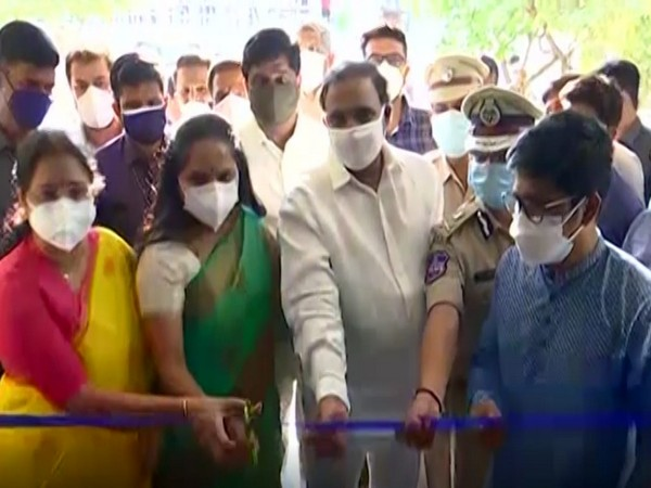 MLC Kavitha inaugurates 200-bed isolation centre in Hyderabad