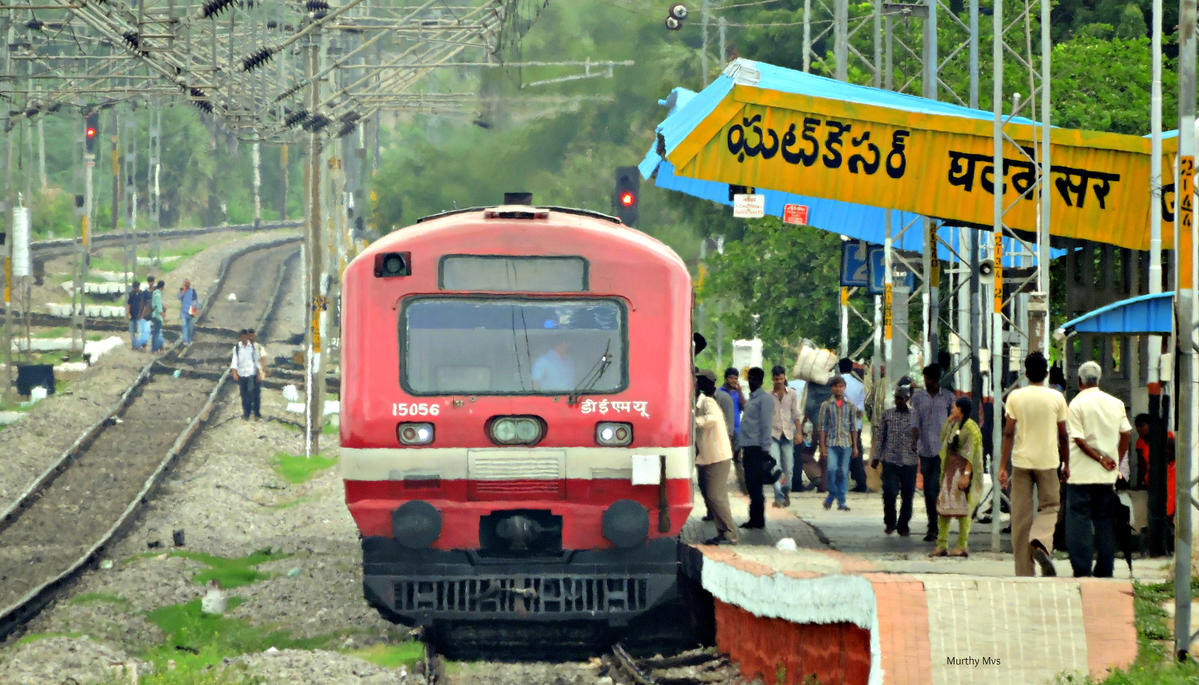 Kacheguda-Miryalguda DEMU Passenger train extended up to Nadikude