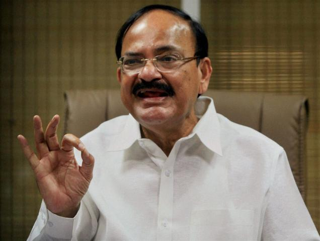 Venkaiah Naidu undergoes an eye operation in Hyderabad