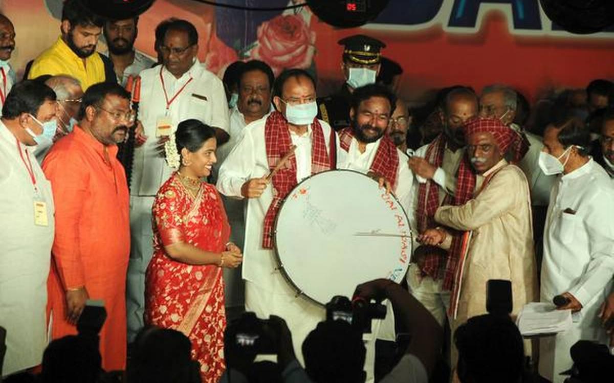 Venkaiah Naidu addresses the annual cultural event
