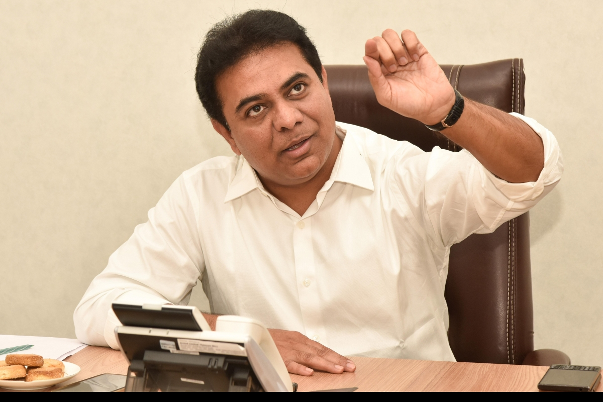 People who recovered from the virus should also come forward to donate plasma: K T Rama Rao