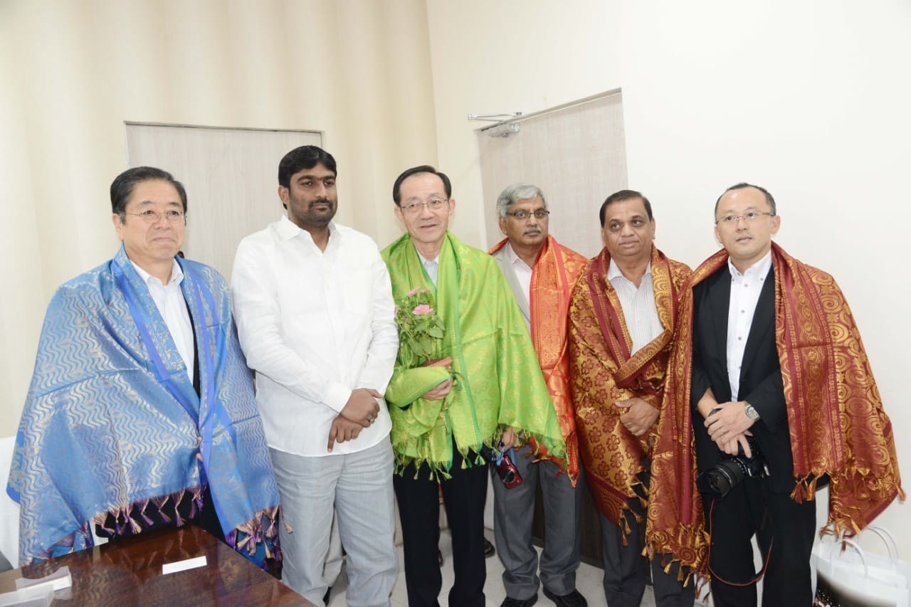 Japanese team meets GHMC officials in Hyderabad