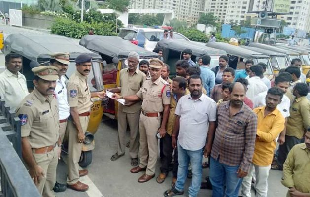 Cyberabad Police begin autorickshaw registration drive