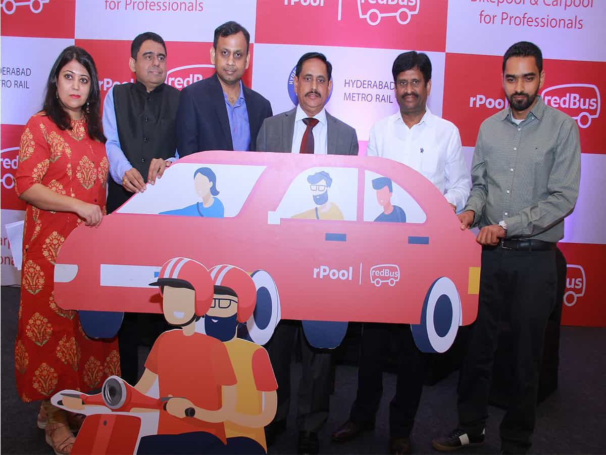 Redbus launches carpooling service for Metro commuters