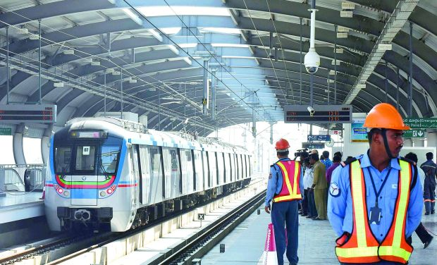 Hyderabad Metro Rail to run extra services from today