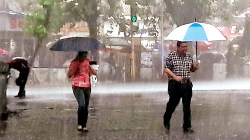 Telangana gets first monsoon rainfall