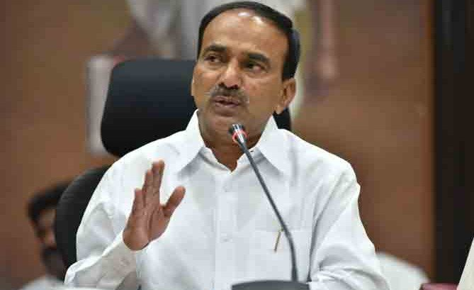 Union Budget disappointing: Etela Rajender