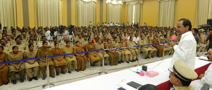 CM KCR hikes salaries of home guards