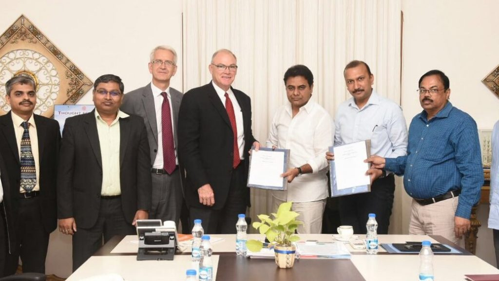 Ford India and HMDA inks MoU to set up common digital solution for commuters