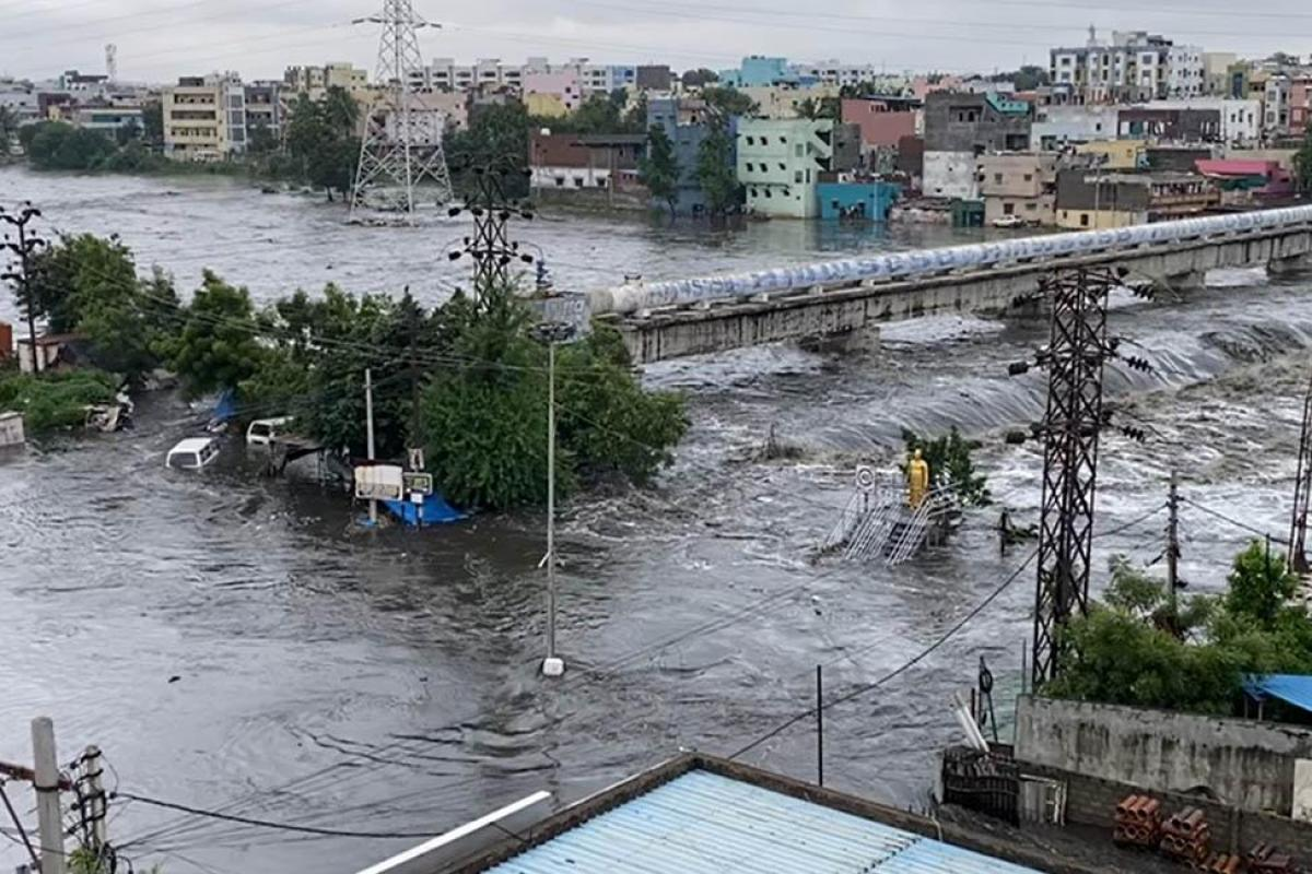 GHMC along with the Revenue dept alerted the people and relocated those houses prone to inundation