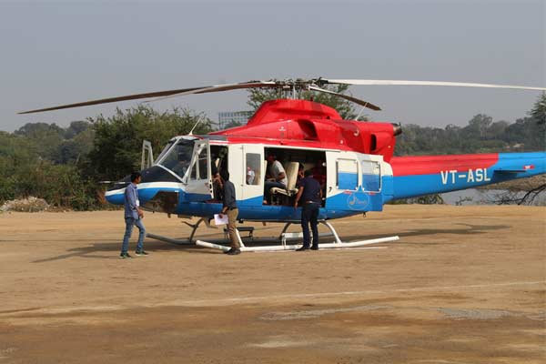 Hyderabad helicopter joyrides from May 9 to May 14