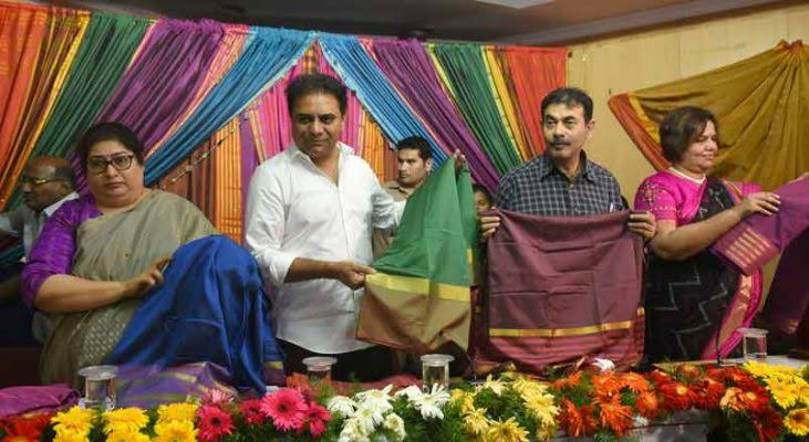 1.26 cr sarees to be distributed across Telangana