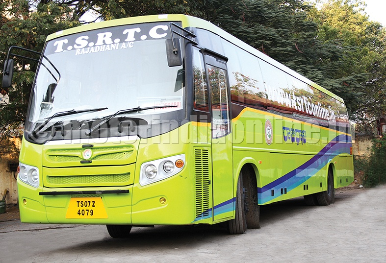 TSRTC  will procure 1,391 new buses to strengthen public transport