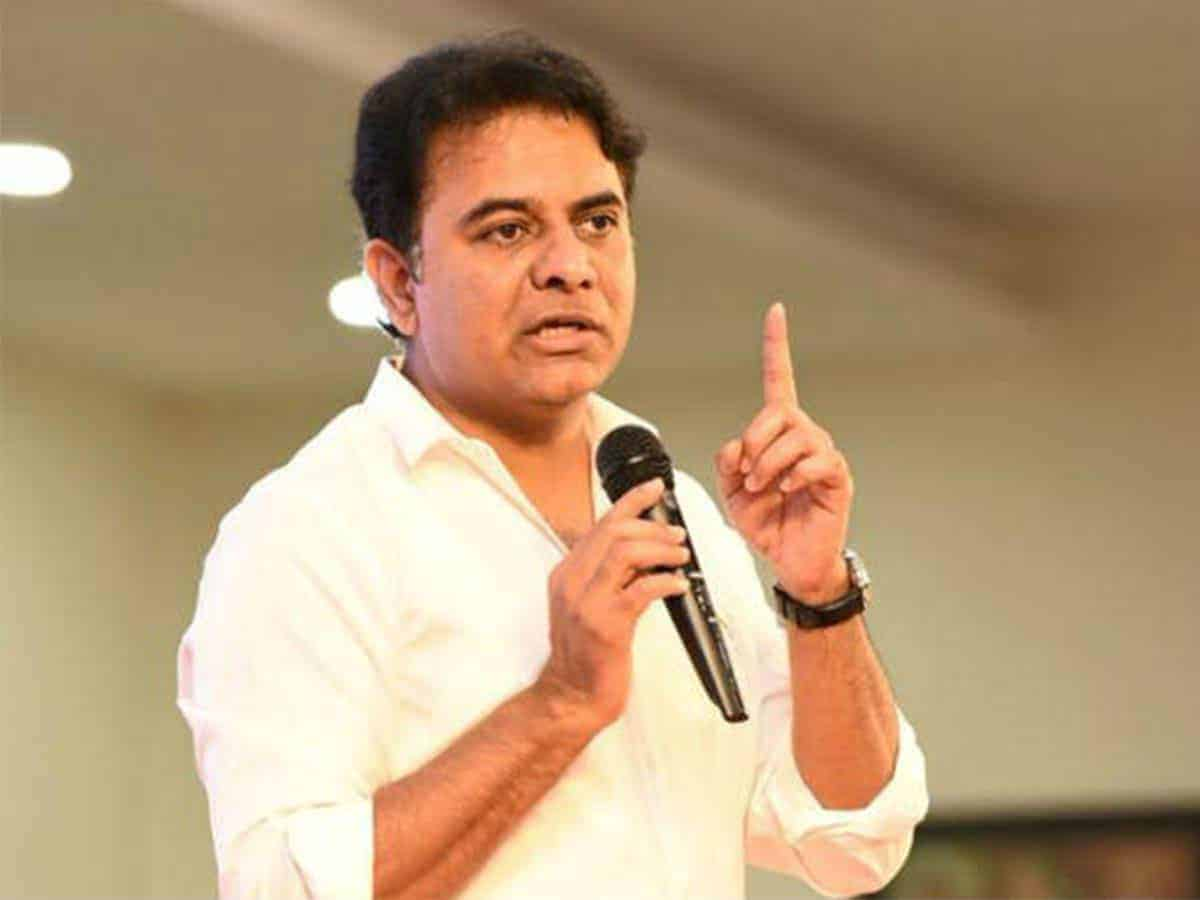 KTR opines that usage of technology during the troubled time had actually opened up many more new ideas