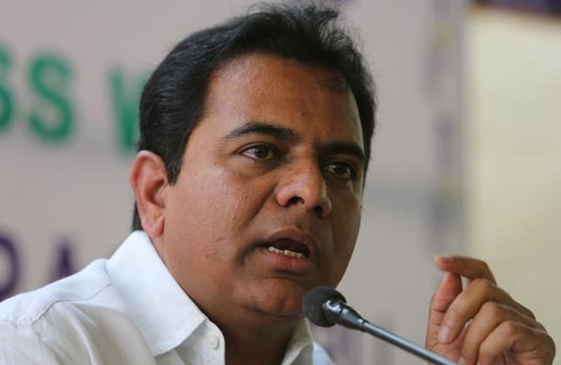 KTR slams the opposition for criticizing the State government over the measures to check the spread of Covid-19