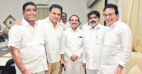Stay in touch with people: KT Rama Rao