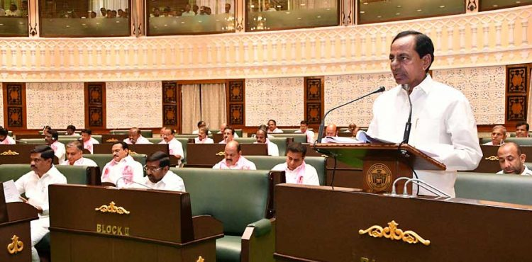 Industrial, IT sectors post constant growth: KCR