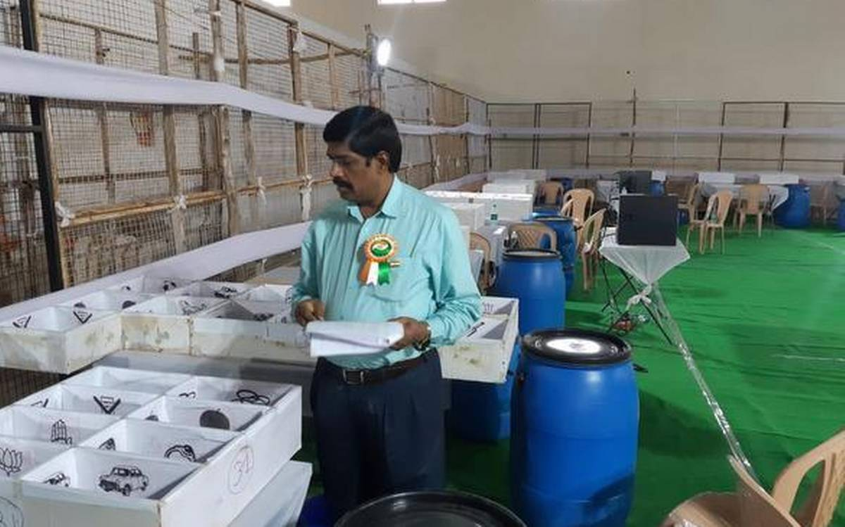 Counting begins for Karimnagar municipal corporation today