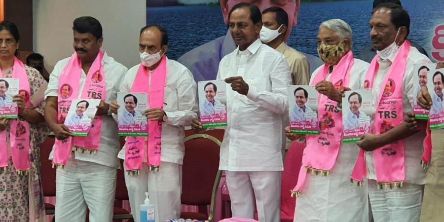 TRS releases party manifesto for the GHMC election