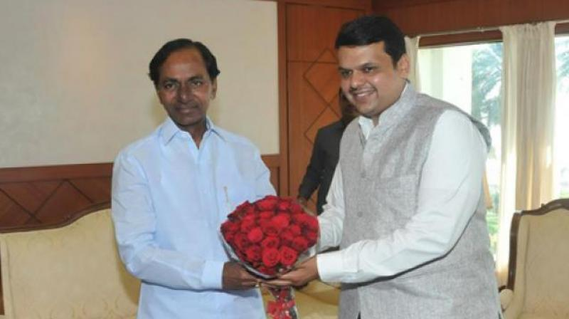 CM KCR to personally invite Maharashtra CM for Kaleswaram project inauguration